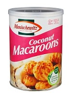 Manischewitz Coconut Macaroons 10 oz. (Case of 12)