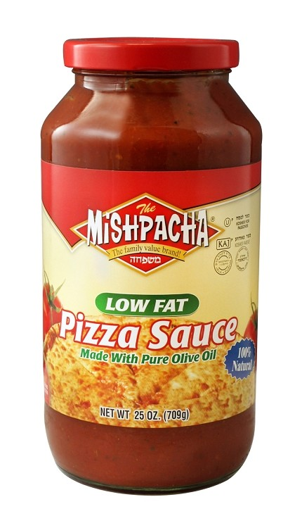 Mishpacha Low Fat Pizza Sauce, 25 oz. (Case of 12)