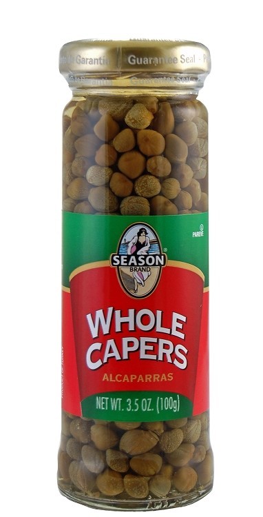 Season Whole Capers, 3.5 oz. (Case of 6)