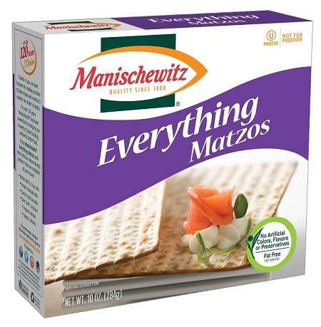 Manischewitz Everything Matzo, 10 oz. (Case of 12)
