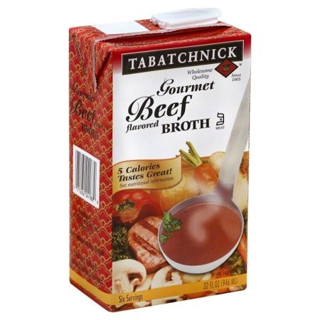 Tabatchnick Beef Flavored Broth, 32 Oz (Pack of 12)