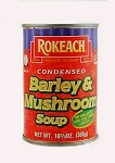 Rokeach Barley & Mushroom Soup, 10.75 oz. - Babad (Case of 24)