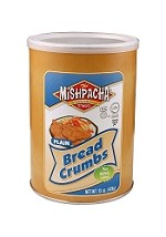 Mishpacha Plain Bread Crumbs, 15 oz. (Case of 12)