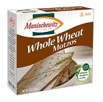 Manischewitz Whole Wheat Matzo, 10 oz. (Case of 12)