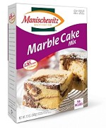 Manischewitz Marble Cake Mix, 12 oz. (Case of 12)
