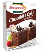 Manischewitz Chocolate Cake Mix with Fudge Frosting, 12 oz. (Case of 12)