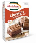 Manischewitz Chocolate Brownie Mix with Fudge Frosting, 12 oz. (Case of 12)