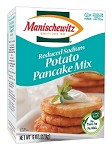 Manischewitz Reduced Sodium Potato Pancake Mix, 6 oz. (Case of 12)
