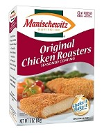 Manischewitz Original Chicken Roasters Seasoned Coating Mix, 3 oz. (Case of 12)