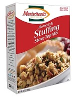 Manischewitz Homestyle Stuffing Stove Top Mix, 6 oz. (Case of 12)