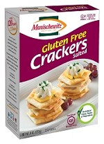 Manischewitz Gluten Free Salted Crackers, 8 oz. (Case of 12)
