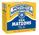 Horowitz Margareten Egg Matzo, 12 oz. (Case of 24)