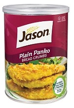 Jason Plain Panko Bread Crumbs, 9 oz. (Case of 12)