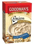 Goodman's Low Sodium Onion Soup & Dip Mix, 2.75 oz. - Babad (Case of 24)