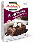 Manischewitz Fudgey Gooey Brownie Mix, 14.1 oz. (Case of 12)