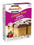 Manischewitz Gluten Free Yellow Cake Mix with Fudge Frosting, 15 oz. (Case of 12)
