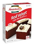 Manischewitz Red Velvet Cake Mix with Vanilla Flavored Frosting, 12 oz. (Case of 12)