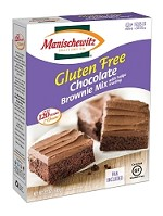 Manischewitz Gluten Free Chocolate Brownie Mix with Fudge Frosting, 12 oz. (Case of 12)