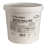 Manischewitz Matzo Ball Mix, 3 lb. Pail (Case of 4)