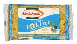 Manischewitz Yolk Free Medium Noodles, 12 oz. (Case of 12)