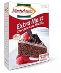 Manischewitz Extra Moist Chocolate Cake Mix with Frosting, 14 oz. (Case of 12)
