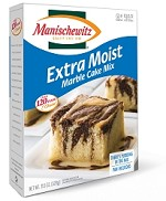 Manischewitz Extra Moist Marble Cake Mix, 11.5 oz. (Case of 12)