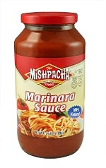 Mishpacha Marinara Sauce, 25 oz. (Case of 12)