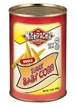 Mishpacha Whole Sweet Baby Corn, 15 oz. (Case of 24)