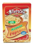 Mishpacha Lite Microwave Popcorn, 3 3.5 oz. Bags (Case of 12)