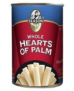 Season Whole Hearts Of Palm, 14 oz. Can (Case of 12)