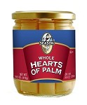 Season Whole Hearts Of Palm, 14.5 oz. Jar (Case of 12)