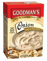 Goodman's Gluten Free Onion Soup & Dip Mix, 2.75 oz. - Babad (Case of 24)