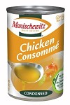 Manischewitz Chicken Consomme, 10.5 oz. Can (Case of 12)