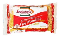 Manischewitz Extra Wide Egg Noodles, 12 oz. (Case of 12)