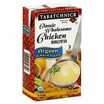 Tabatchnick Organic Chicken Broth, 32 Oz (Pack of 12)